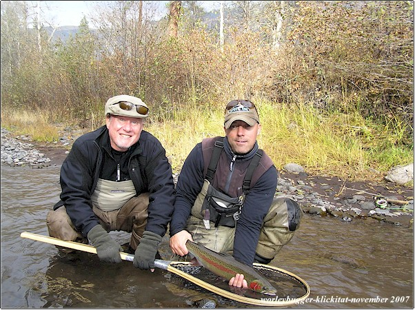 The yakima river fly fishing journal 2007 for Klickitat river fishing report
