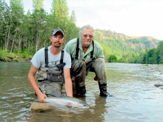 Klickitat river summer program 2012 for Klickitat river fishing report
