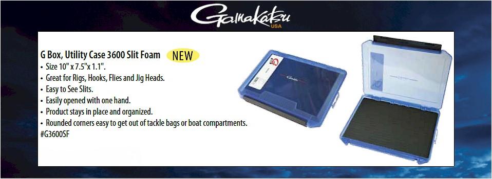 a6e4b9392f68 Gamakatsu 3600 Slit Foam Utility G-Box Case - Worley Bugger Fly Co