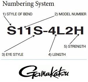 Gamakatsu J20 Jig Nymph Executive Series Hook Size 10 Black