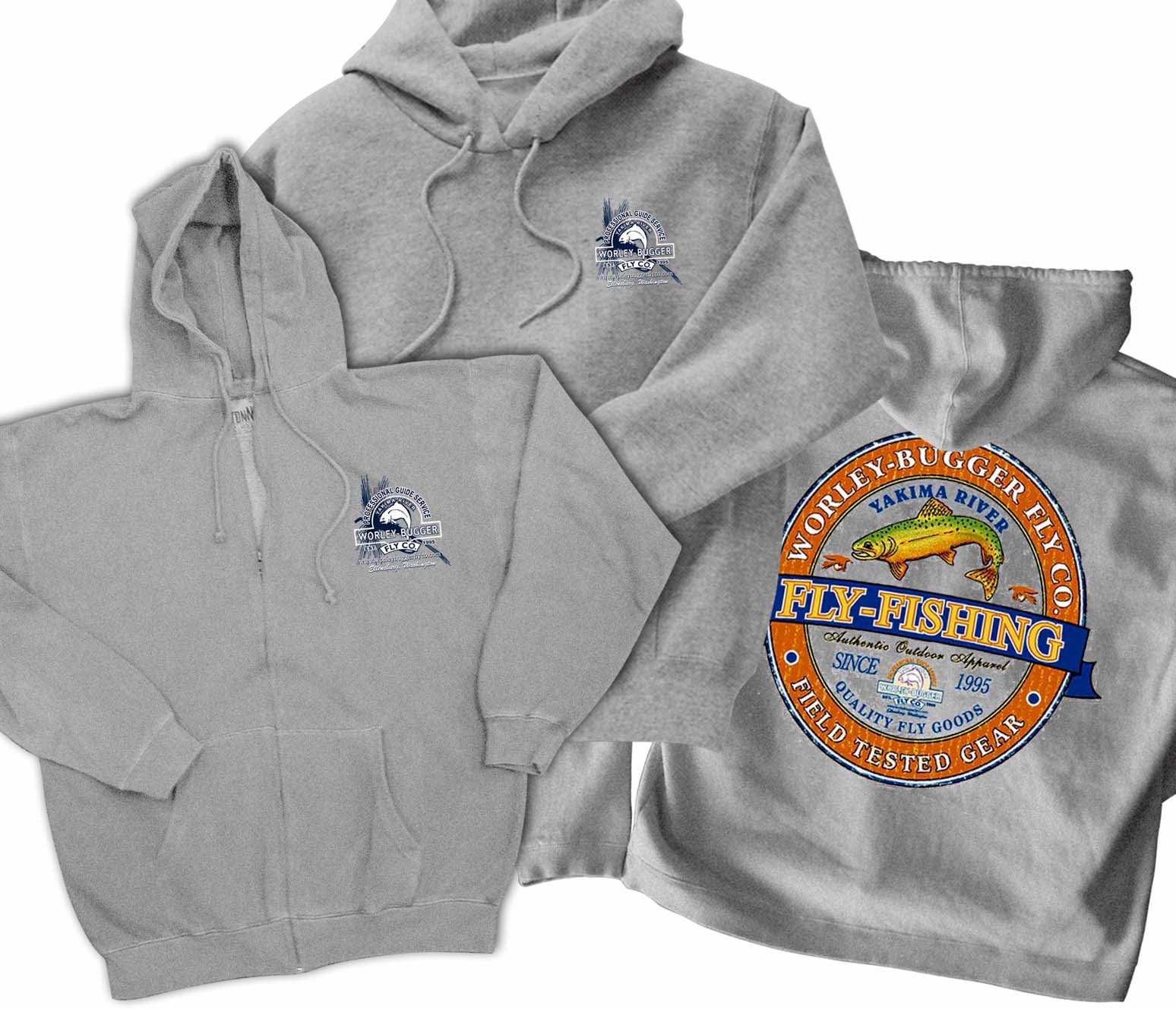 Worley Bugger Fly Co Pro Shop Hoodies Tees